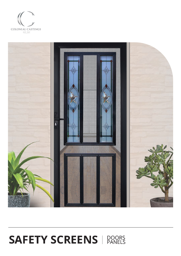 Safety Screen Doors & Grills 2020 (updated 1/9/2020)